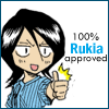 100 percent rukia APPROVED!!!