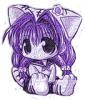 puprple  girl =)
