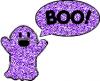 boo purple ghost