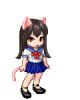 Kitty School Girl