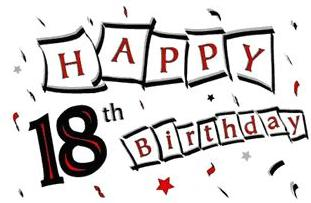 18th Birthday Clip Art http://glitter-graphics.com/graphics/170320