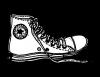One Converse Shoe